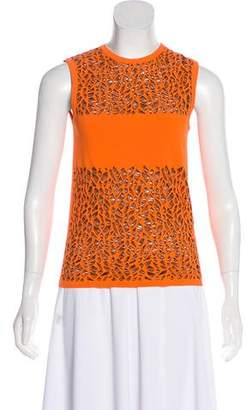 Versace Sleeveless Patterned Top