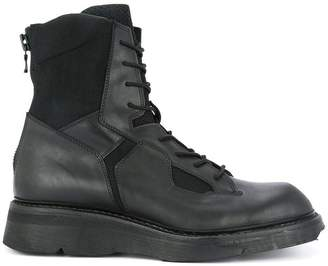 Julius lace-up combat boots