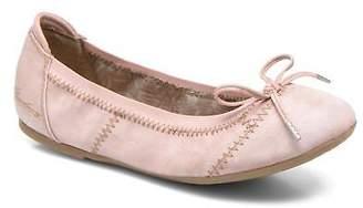 Mustang Kids's Leah Ballet Pumps in Pink