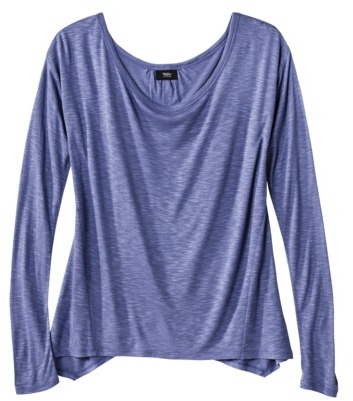 Mossimo Womens Split Back Top - Assorted Colors