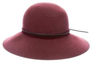 Rag & Bone Wool Fedora Hat
