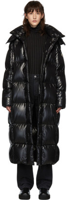 Moncler SSENSE Exclusive Black Down Parnaiba Coat