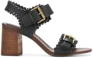 See by Chloe Romy City whipstitch sandals