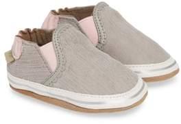 Robeez R) Pop of Pink Liam Crib Shoe
