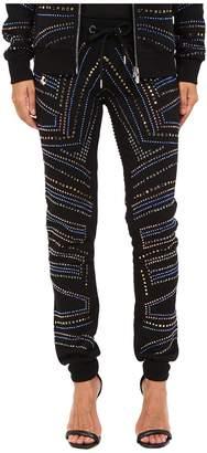 Philipp Plein Embellished Jogging Sweatpants Women's Casual Pants