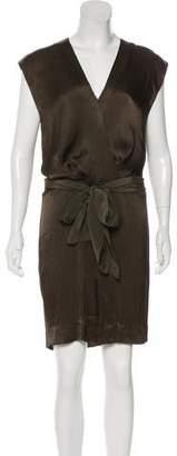 L'Agence Tonal Knee-Length Dress
