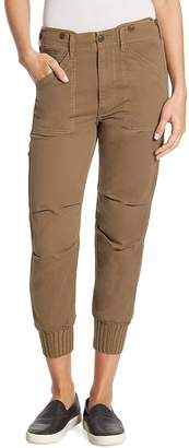 Vince Women's Slouchy Military Buttoned Pants