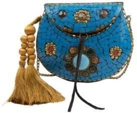 Sam Edelman Hilda Embellished Iron Crossbody Bag