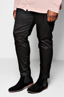 boohoo Big and Tall Slim Fit Chino Trouser With Stretch