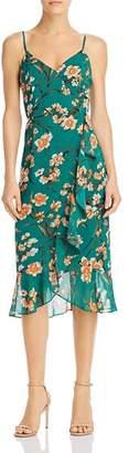 Bardot Malika Floral Ruffle Dress