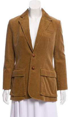 Ralph Lauren Corduroy Notch-Lapel Blazer