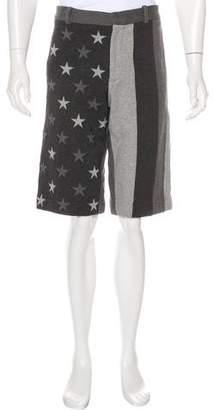 Givenchy American Flag Shorts