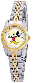 Disney Women's Mickey Two-Tone Watch $59.99 thestylecure.com