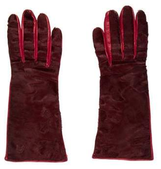 Loro Piana Persian Leather Gloves