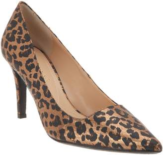 J. Renee Metallic Cheetah Pointed-Toe Pump - Alipha