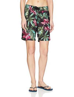 Kanu Surf Women's Hayley UPF 50+ Active Printed Swim and Workout Board Short,2
