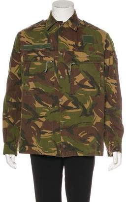 Yeezy Pablo Tour Camo Field Jacket