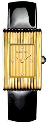 Boucheron Yellow Gold and Diamond Reflet Watch (18mm)
