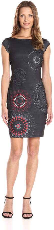Desigual Women's Dress Pichi Grey