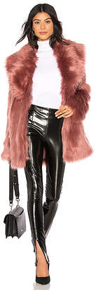 Unreal Fur Premium Rose Faux Fur Jacket