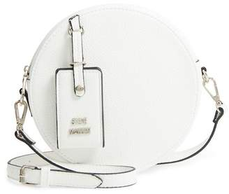 Steve Madden Pebbled Faux Leather Canteen Bag
