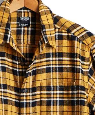 Todd Snyder Yellow Plaid Shirt