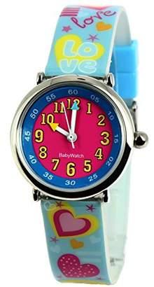 Baby Watch 3700230606160 Coffret Bon-Heure Love - Wristwatch Girl's, Plastic, Band Colour: Multicolour