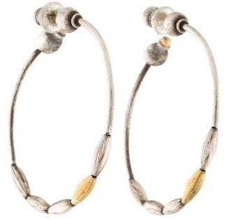 Gurhan Two-Tone Willow Hoop Earrings