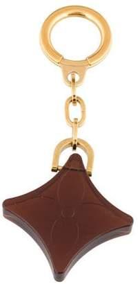 Louis Vuitton Fleur Motif Keychain