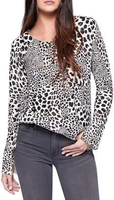 Sanctuary Leopard Crew Sweater