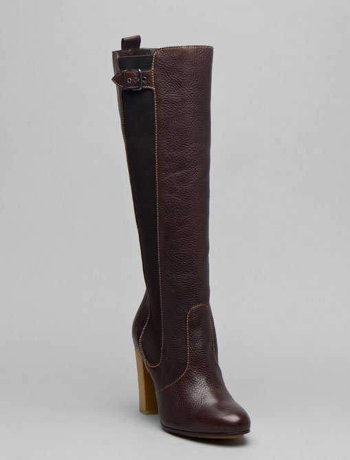 Moschino Cheap & Chic Tall Boot with Crepe Sole