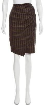Peter Som Asymmetrical Knee-Length Skirt