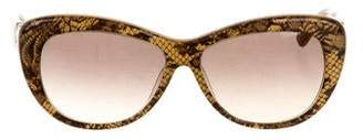 Valentino Lace Cat-Eye Sunglasses