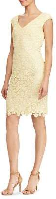 Lauren Ralph Lauren Lace V-Neck Dress