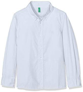 Benetton Boy's Shirt Long Sleeve Blouse,(Manufacturer Size: 2Y)