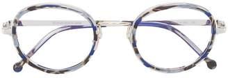 Cutler & Gross tortoiseshell effect glasses