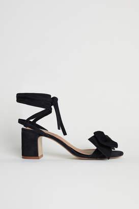 H&M Suede Sandals