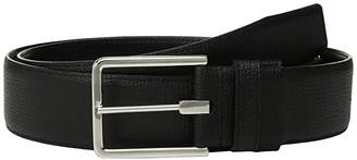 Tumi Textured Leather Reversible Belt