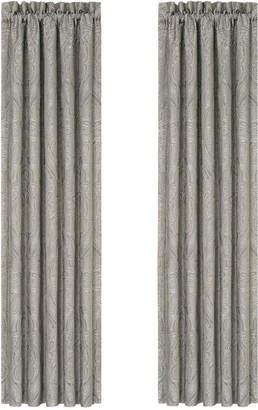 """J Queen New York Corinna Pair of 84"""" x 100"""" Window Panels"""
