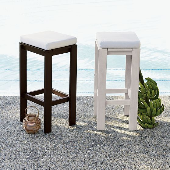 Wood-Slat Bar Stools