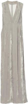 Bottega Veneta Wide-Leg Velvet Jumpsuit