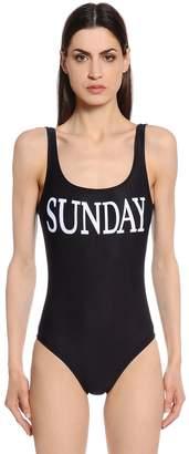 Alberta Ferretti Sunday One Piece Swimsuit