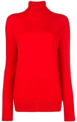 Equipment long-sleeve roll-neck sweater