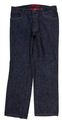 Prada Sport Straight-Leg Jeans
