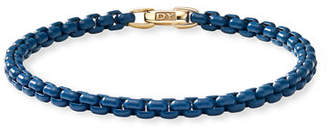 David Yurman Bel Aire Colored Bracelet w/ 14k Gold, 4mm, Size S-L