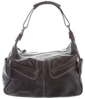 Tod's Grained Leather Miky Bag Black Grained Leather Miky Bag