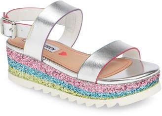 Steve Madden JKENNIE Glitter Platform Sandal