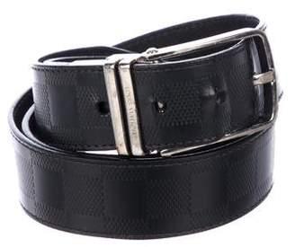 c7402a62389e Louis Vuitton Damier Infini Boston Reversible Belt
