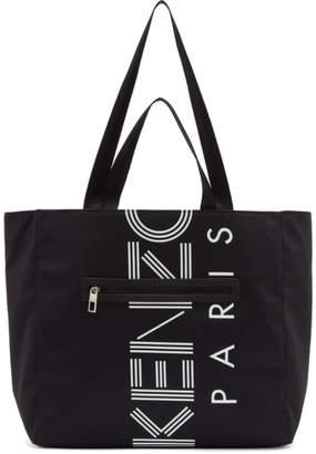 Kenzo Black Sport Logo Tote