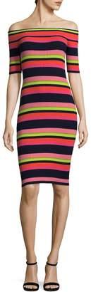 Trina Turk Women's Necha Stripe Cotton Dress